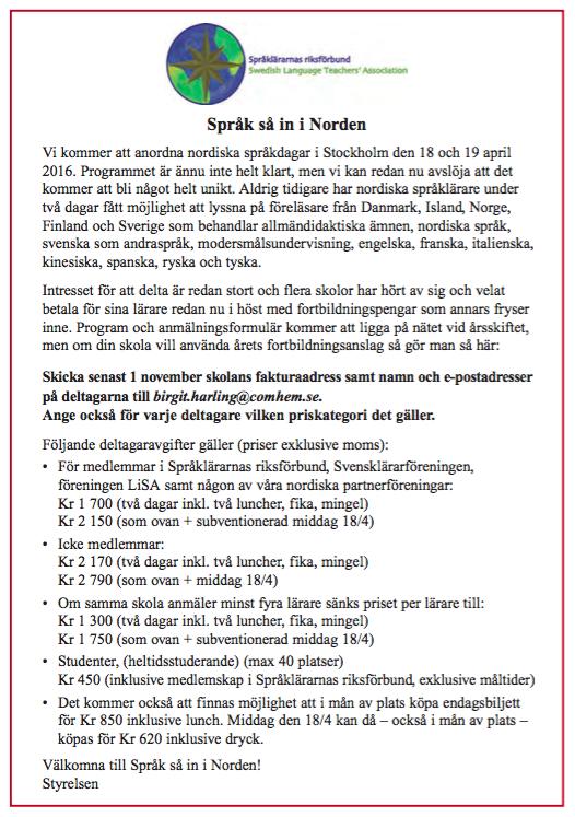 Priser Språk så in i Norden