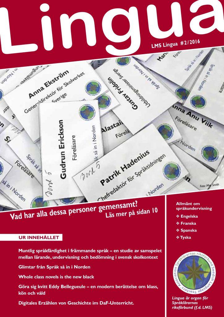 Lingua omslag 2 2016